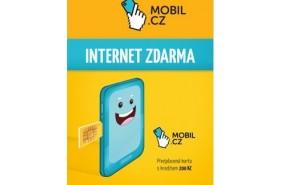 SIM karta Mobil.cz pro fotopasti s GSM